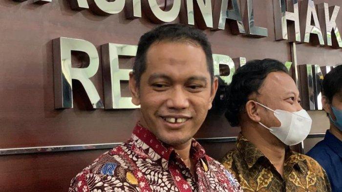 Pimpinan KPK Nurul Ghufron Sampaikan Dasar Hukum Pelaksanaan TWK ke Komnas HAM