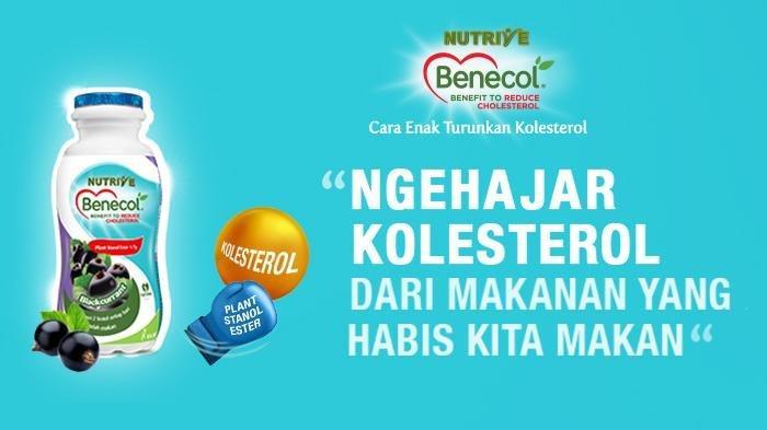 Nutrive Benecol cara menurunkan kolesterol tinggi