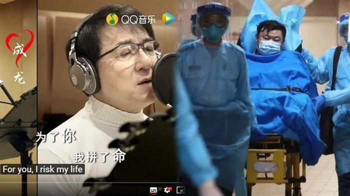 Nyanyian Jackie Chan salah satu upaya China bangkit dari virus corona