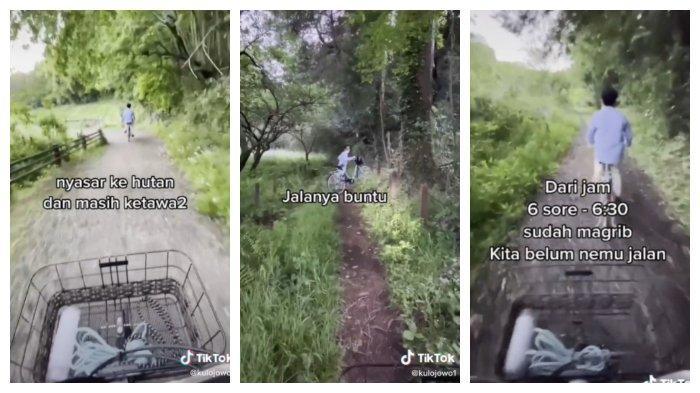VIRAL Pria Bersepeda dengan Mengandalkan Google Maps, Akhirnya Tersesat sampai Masuk Hutan