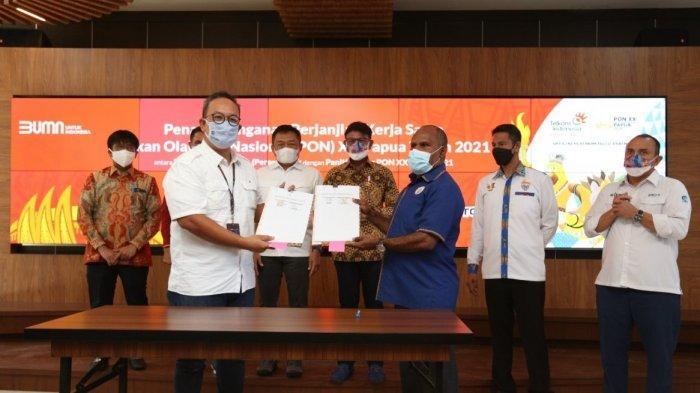 Hadir Sebagai Official Platinum Telco Partner, Telkom Siap Sukseskan Penyelenggaraan PON XX Papua