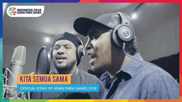 Glenn Fredly Hingga Penyanyi Dangdut Pantura Bawakan Official Song Asian Para Games, Simak Lagunya