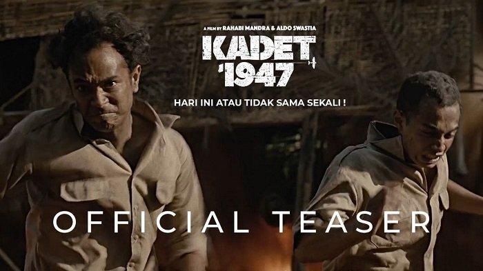 Rilis Teaser dan Poster, Film Kadet 1947 Dibintangi Kevin Julio Siap Tayang di Bioskop