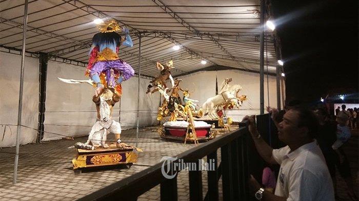 Hari Raya Nyepi, 13 Ogoh-ogoh Dinilai Langsung Kapolda Bali, Perebutkan Hadiah Puluhan Juta