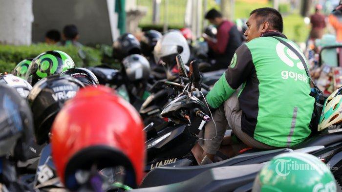 Ikut Keputusan Pemerintah, Polisi Izinkan Pengemudi Ojol Angkut Penumpang Selama PSBB