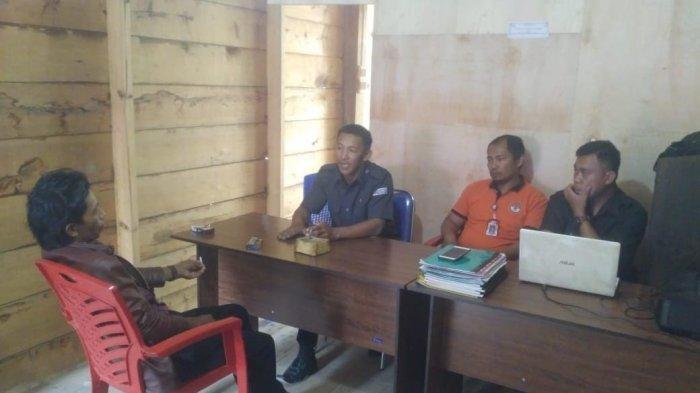 Panwascam Tawalian Periksa Oknum Kepala Dusun dan ASN yang Diduga Ikut Pertemuan Caleg