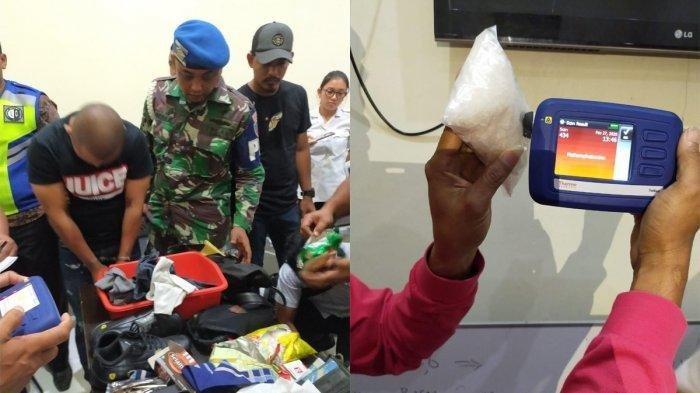 Oknum Polisi Bawa 488 Gram Sabu Diserahkan ke BNNP Kaltara