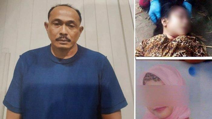 Oknum polisi yang bertugas di Polres Belawan Aipda Roni Saputra menjadi tersangka kasus pembunuhan dua gadis muda, Aprilia Cinta (13) dan Rizka Fitria (21) di Medan