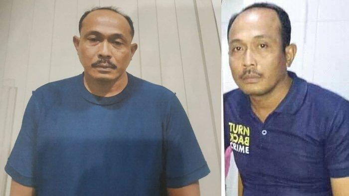 Oknum polisi Polres Belawan Aipda Roni Saputra menjadi tersangka kasus pembunuhan