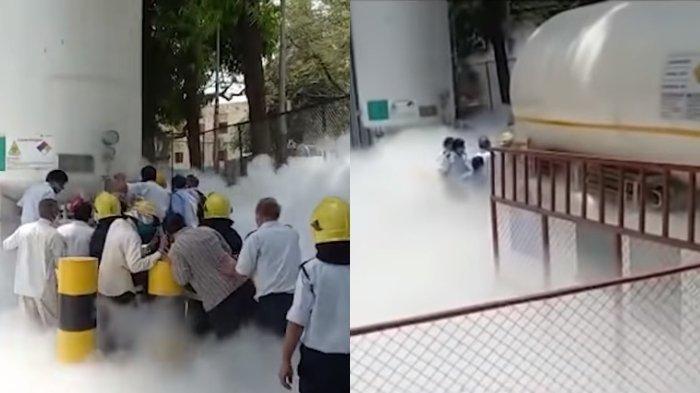22 Pasien Covid-19 di India Tewas karena Oksigen Bocor, Rumah Sakit Dipenuhi Asap Putih