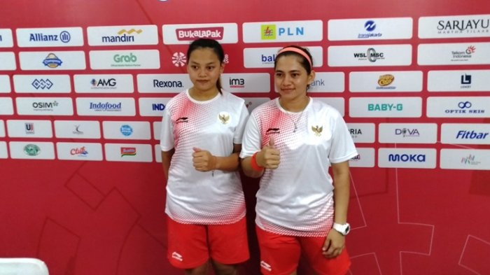 Ganda Putri Para-Badminton Indonesia Sumbang Emas Lewat Oktila Leani Ratri/Khalimatus Sadiyah