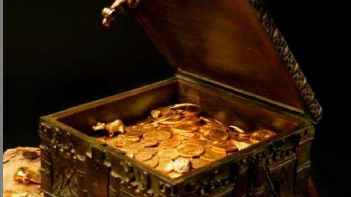 Warga Heboh Ditemukan Harta Karun Emas Diduga Peninggalan Kerajaan Sriwijaya di Lokasi Karhutla