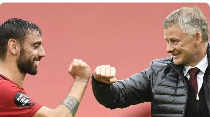 JADWAL Live MU vs Liverpool Liga Inggris, Bruno Fernandes Ingin Ikuti Jejak Solskjaer