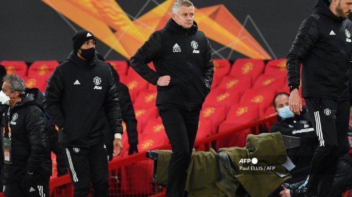 Hasil Liga Eropa: Solskjaer Sebut Man United Buat Kesalahan Seperti Anak Sekolahan