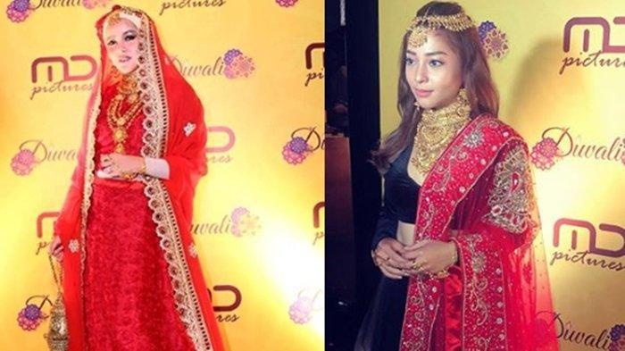 Foto-foto Artis Rayakan Diwali bareng MD Pictures, Ada Cinta Laura, Nikita Willy hingga Olla Ramlan