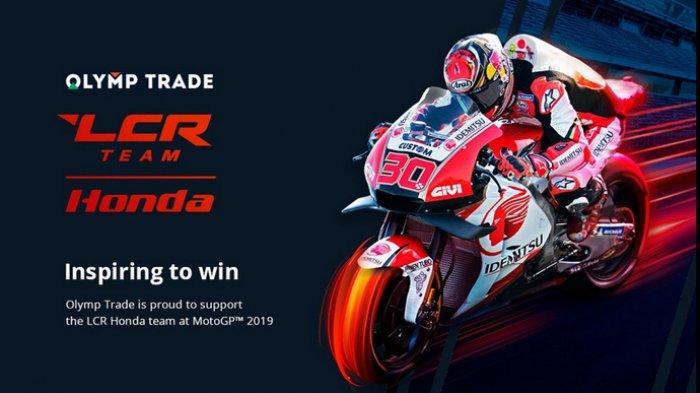 Olymp Trade Jadi Sponsor Resmi Tim LCR Honda MotoGP untuk Musim 2019