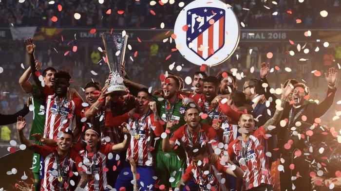 Taklukkan Olympique Marseille 3-0, Atletico Madrid Juarai Liga Europa Ketiga Kalinya