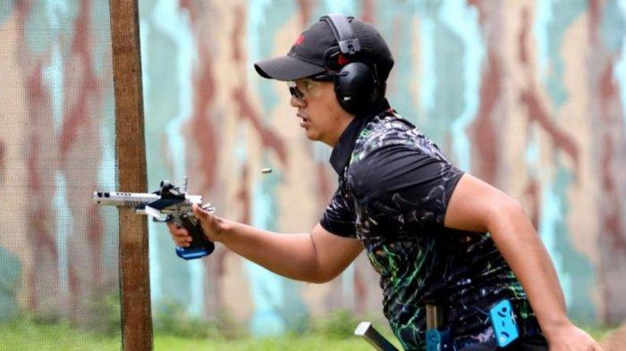 Kejuaraan Menembak HUT Kopassus ke-69 Diikuti Umar Rawiendra Harnoko