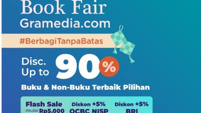Online Book Fair Gramedia.com Tebar Diskon Hingga 90 Persen