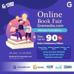 Gramedia Hadirkan Diskon hingga 90% dan Lelang Buku Rp 0 di Online Book Fair