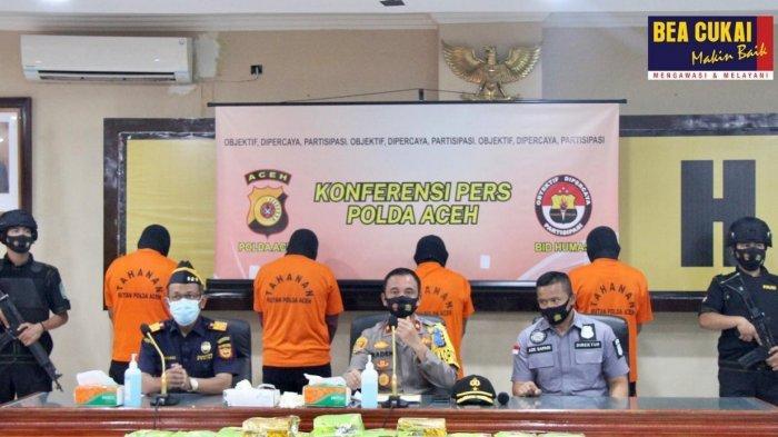 Sinergi Bea Cukai dan Polda Aceh Selamatkan Ratusan Ribu Generasi Muda dari Narkotika