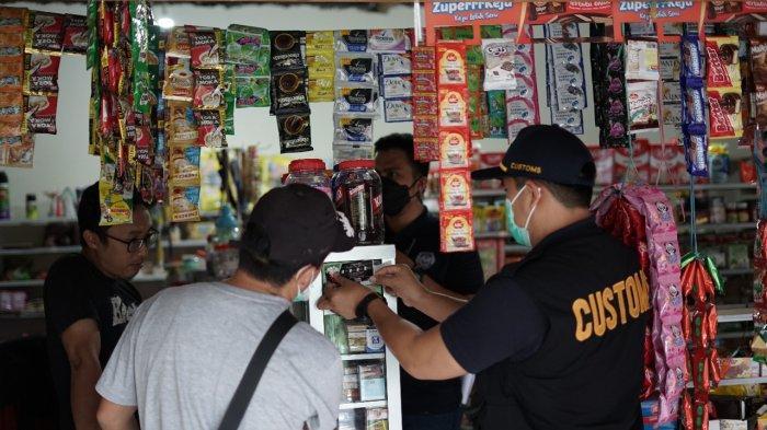 Jamin Keadilan Berusaha Bea Cukai Gelar Operasi Pasar Berantas Rokok Ilegal