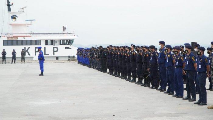 Cegah Peredaran Narkotika melalui Jalur Laut, KPLP Gabung Tim Operasi Laut Interdiksi Terpadu 2021