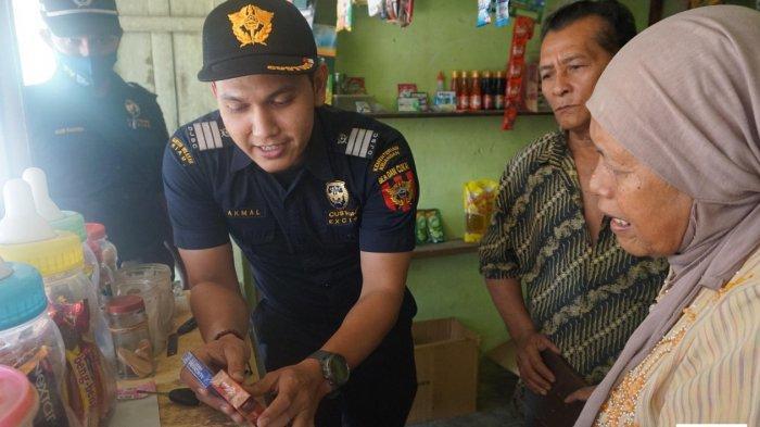 Bea Cukai Wilayah Riau dan Pekanbaru Gempur Rokok Ilegal Lewat Operasi Pasar