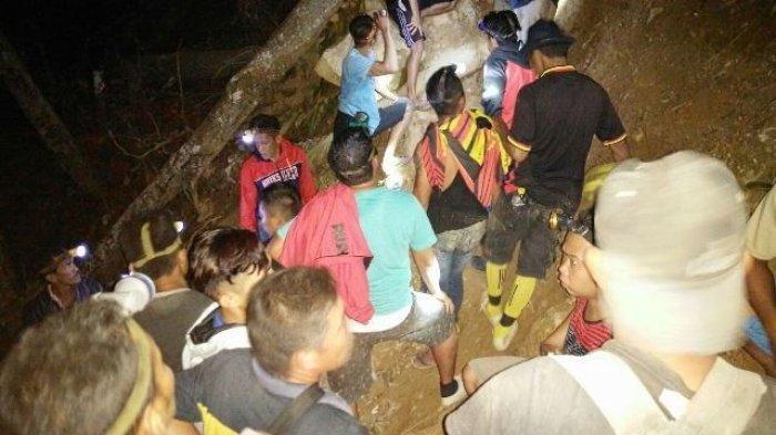 Operasi penyelamatan penambang emas di Bakan, Bolaang Mongondow