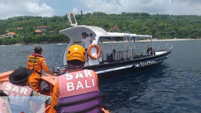 Sudah 7 Hari Bule Rusia yang Tenggelam di Nusa Penida Belum Juga Ditemukan
