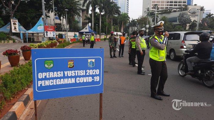 20 Ribu Personel Gabungan Awasi PSBB Jakarta Jilid II