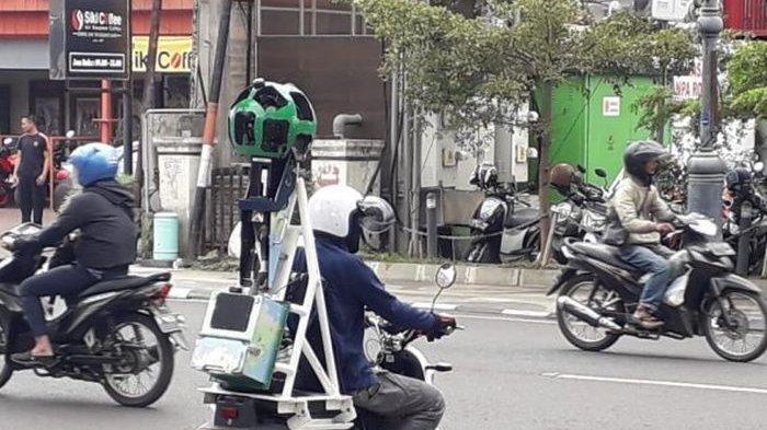 Rekam Jalanan Kota Bandung, Google Andalkan Motor Listrik