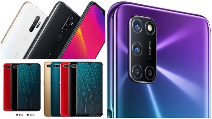 Oppo A5s, Oppo A92, A5 2020 hingga Oppo Find X2 Pro.