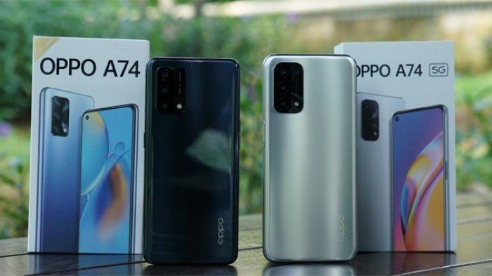 Oppo A74 Resmi Meluncur, Sensasi Ponsel 5G Seharga 3 Jutaan
