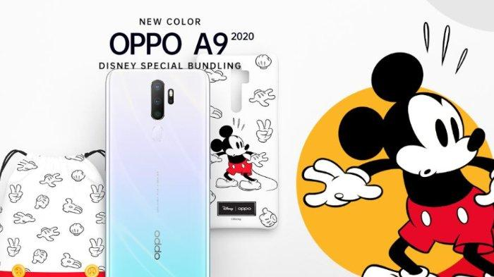 Daftar Harga Hp Oppo Januari 2020, Oppo A9 2020 Hadir dengan Vanilla Mint Disney Special Bundling