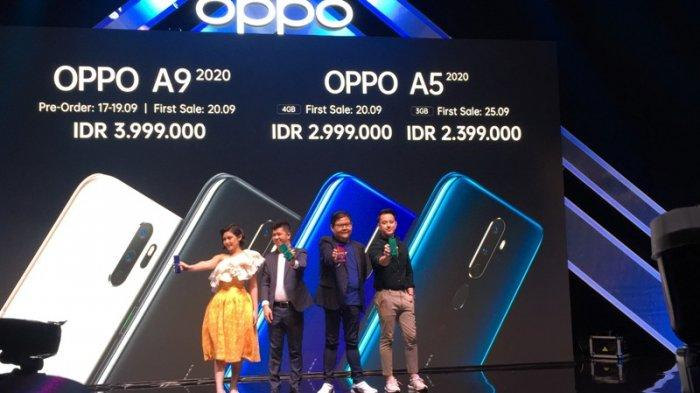 Oppo A9 dan A5 2020