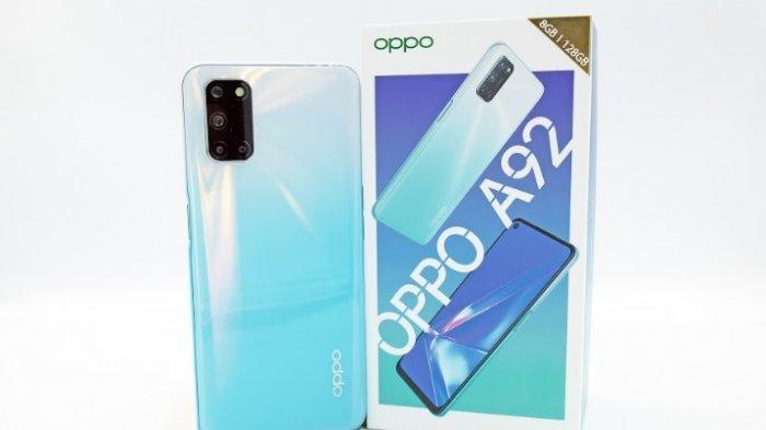 Oppo kembali merilis smartphone terbaru untuk pasar Indonesia, Oppo A92 yang menjadi penerus seri A9 yang membidik segmen milenial, hari ini, Jumat (8/5/2020).