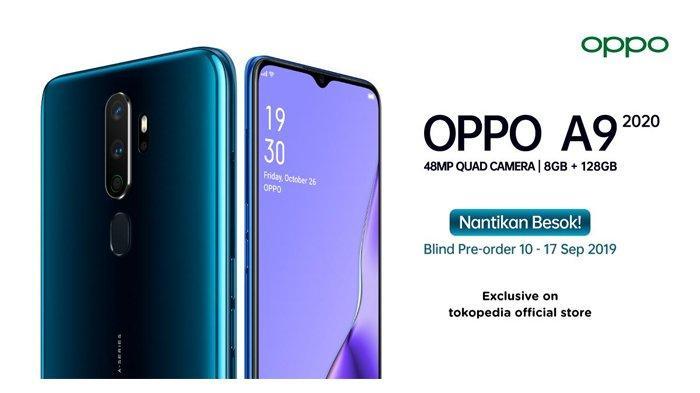 OPPO Adakan Blind Pre-Order A9 2020 di Tokopedia Besok