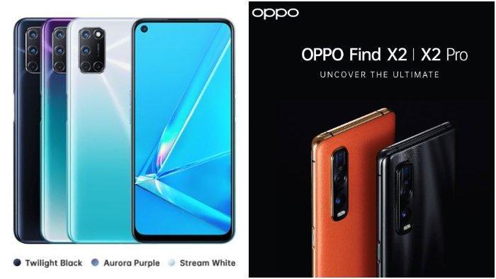 Daftar Harga HP Oppo Terbaru Juni 2020, Oppo A92 Rp 4,1 Juta dan Reno3 Mulai Rp 5,5 Jutaan
