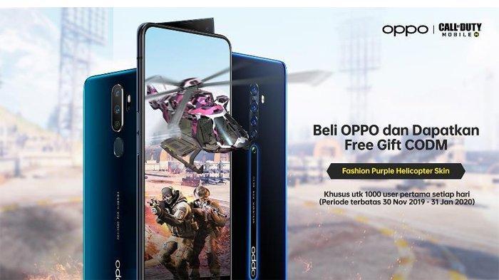 OPPO Bagikan Puluhan Ribu Gift Call Of Duty® Mobile Gratis Pada Pengguna Baru