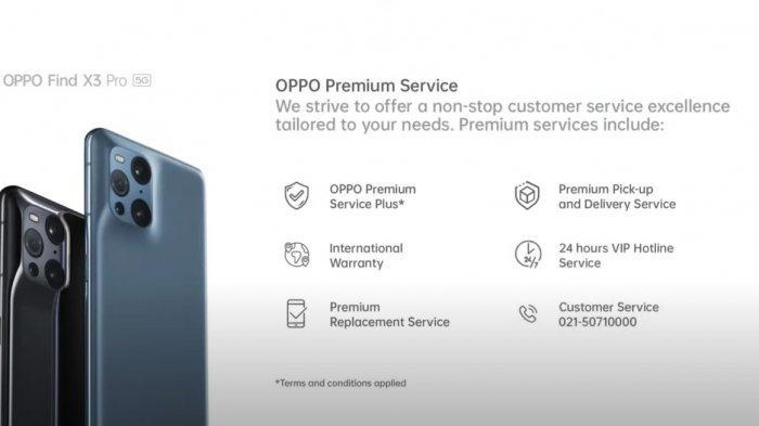 Oppo Kenalkan Layanan Premium untuk Pengguna Find X3 Pro 5G
