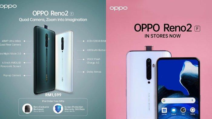 Oppo Reno 2F Harga dan Spesifikasi