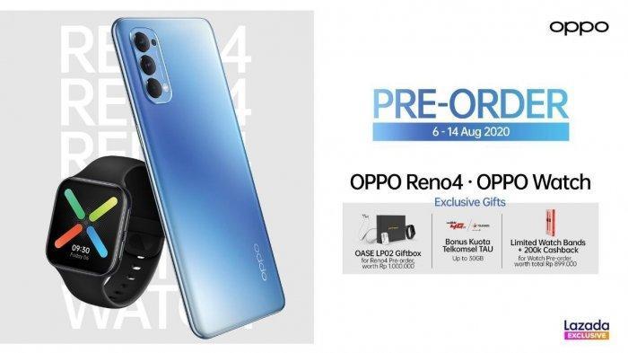 Review Spesifikasi Oppo Reno4, Smartphone Harga Rp 5 Jutaan Usung Chipset Snapdragon 720G