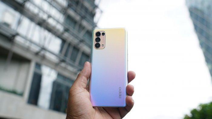 Oppo Reno5, Smartphone 5G Bodi Glowing dengan Aneka Pendaran Warna