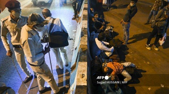 India Catat Rekor Baru Infeksi Covid-19, New Delhi Umumkan Pemberlakuan Jam Malam