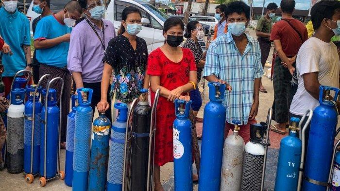 Dokter Sebut Junta Myanmar Menimbun Pasokan Oksigen dan Vaksin, Akses Rumah Sakit Swasta Dipersulit