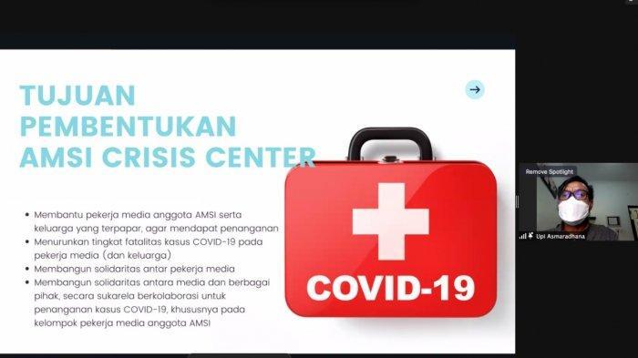 Asosiasi Media Siber Indonesia Bentuk Crisis Center Covid-19 untuk Pekerja Media