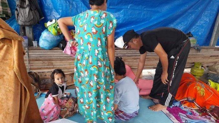 Bayi Tanpa Anus Berusia 5 Hari Anak dari Pengungsi Korban Gempa Meninggal di Makassar