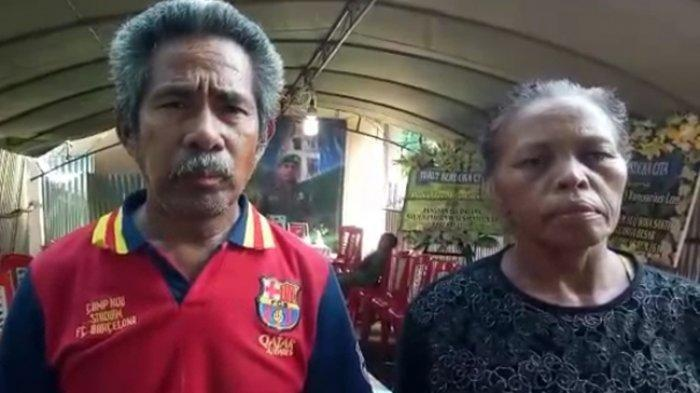 Cerita Orangtua dari Prajurit TNI Asal Belu yang Gugur di Papua