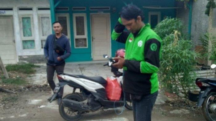 Sebanyak 13 driver ojek online korban penipuan orderan fiktif di Banten, Sabtu (23/11/2019).